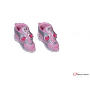 Fingershoes- pink skull